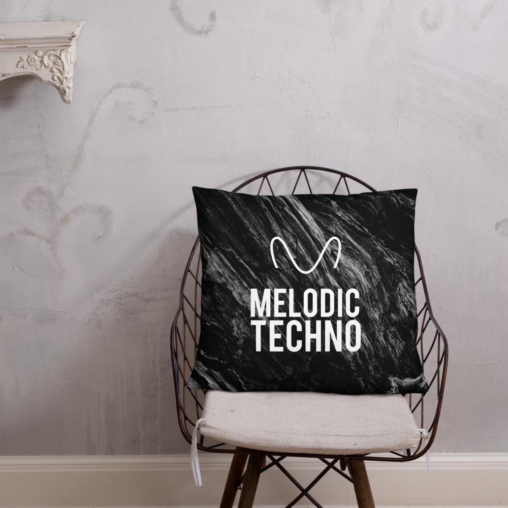 Melodic Techno Pillow